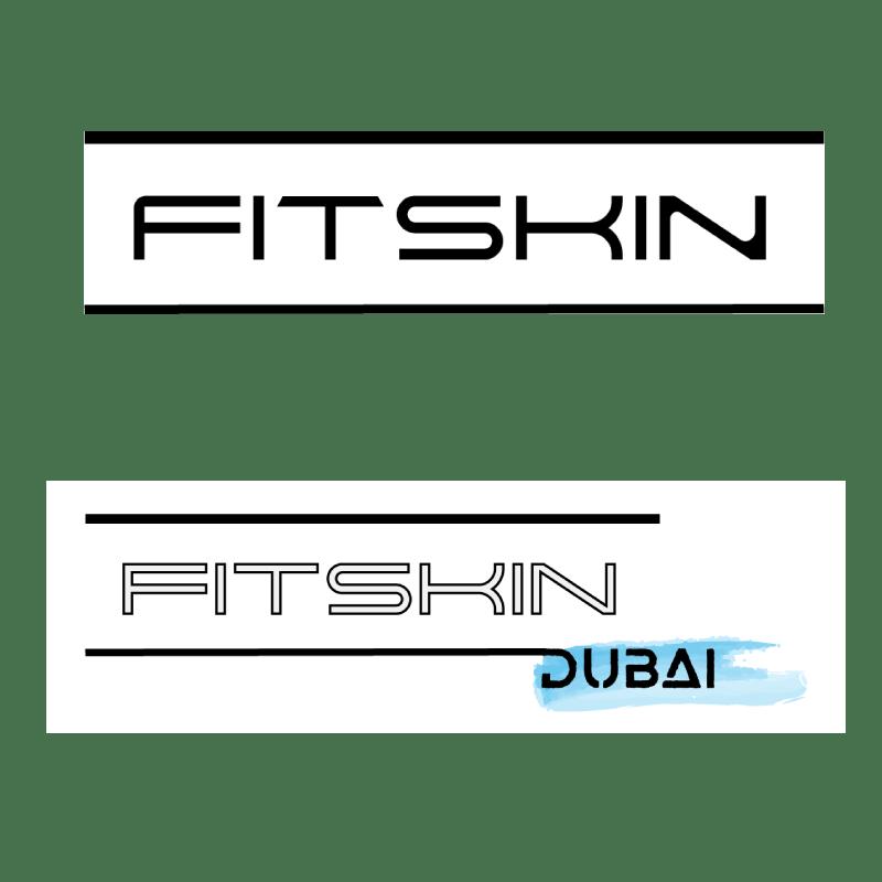 diseño gráfico logo fitskin