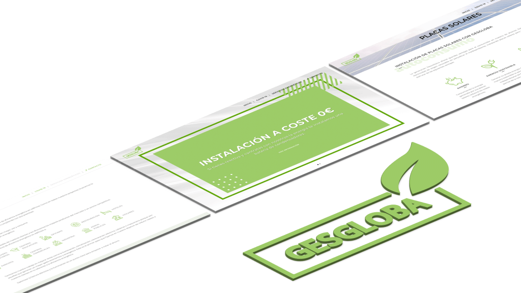 diseño gráfico presentación de web